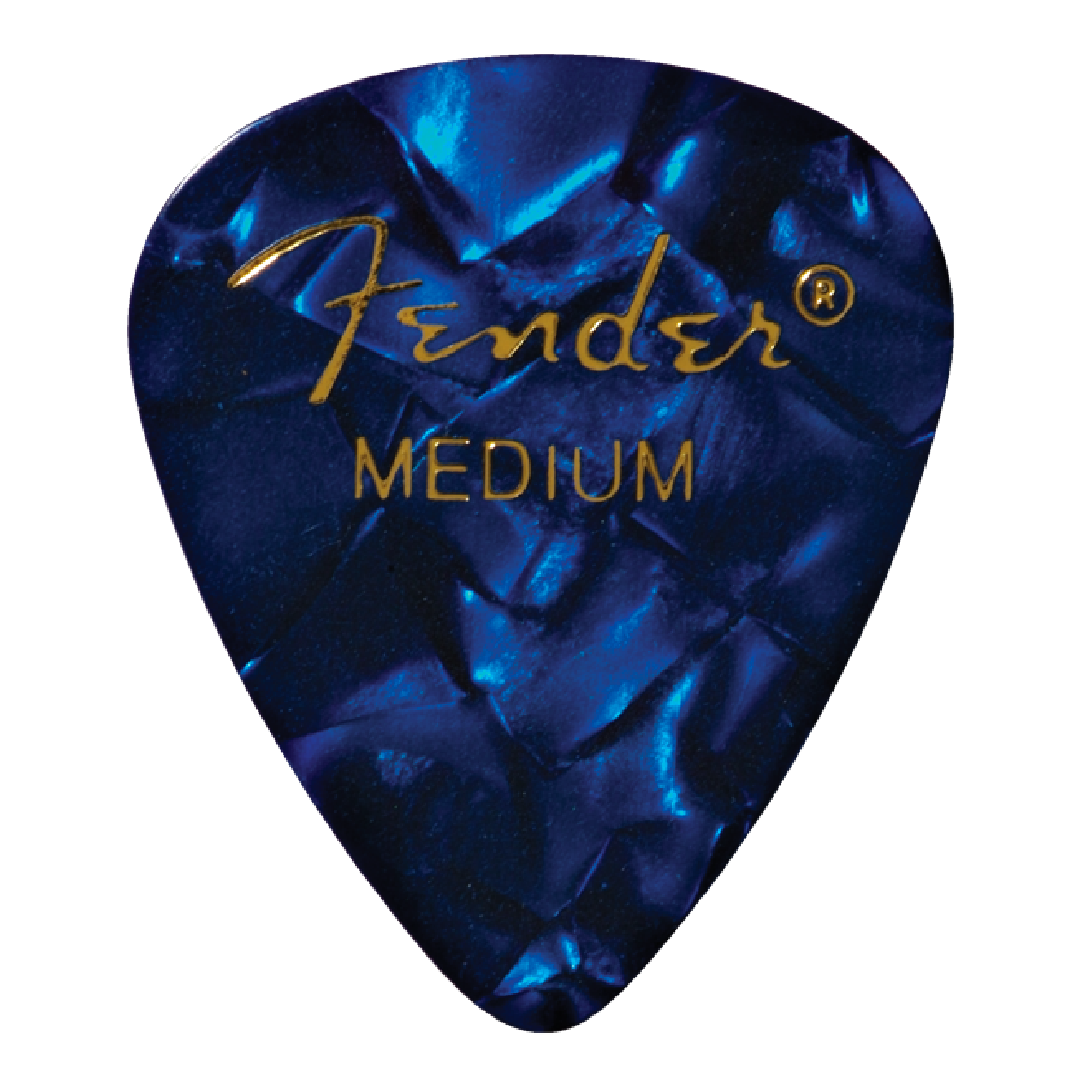 PICKS BLUE MOTO MEDIUM FENDER