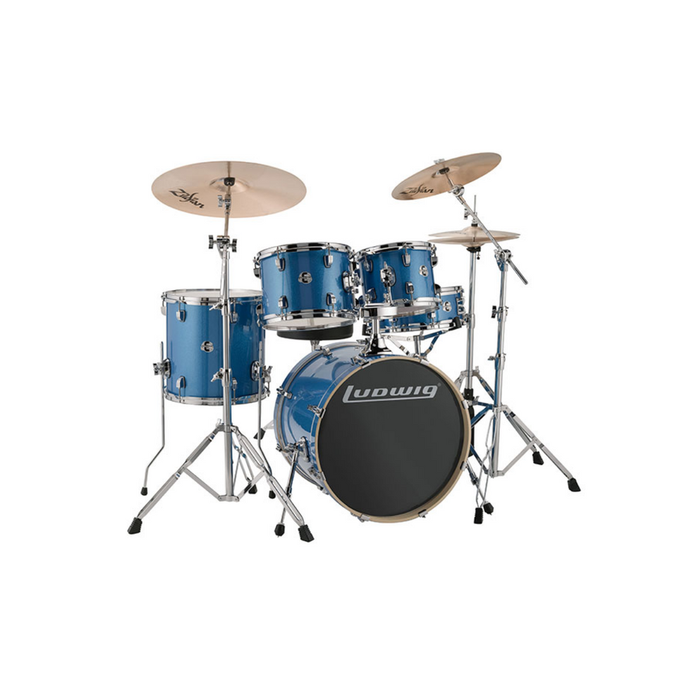 BATERIA LUDWIG EVOLUTION OUTFIT 22´ AZUL