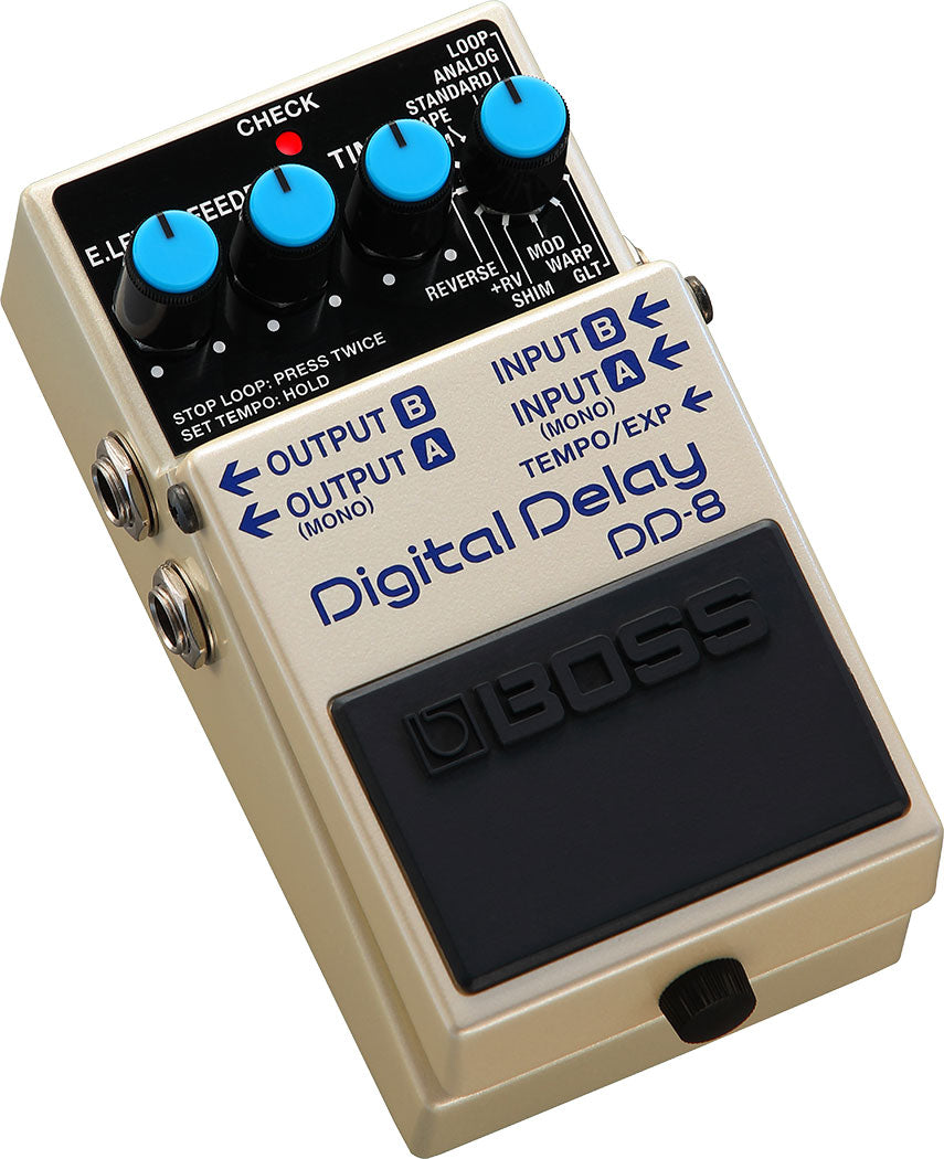 PEDAL EFECTO GUITARRA DIGITAL DELAY DD-8 BOSS