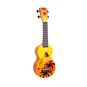 UKULELE HAWAII ORANGE MAHALO