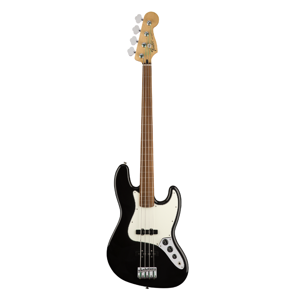 BAJO ELECTRICO FENDER JAZZ BASS PLAYER FRETLESS NEGRO