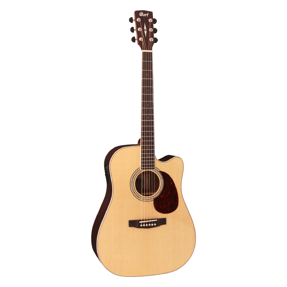 GUITARRA ELECTROACUSTICA MR710F NATURAL SATIN CORT