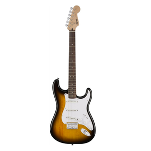 GUITARRA ELÉCTRICA SQUIER BY FENDER BULLET STRAT BROWN SUNBURST