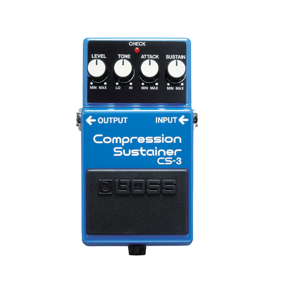 PEDAL EFECTO GUITARRA COMPRESSION SUSTAINER BOSS