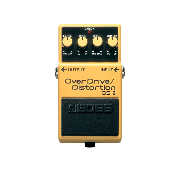 PEDAL EFECTO GUITARRA OVERDRIVE AND DISTORTION OS-2 BOSS