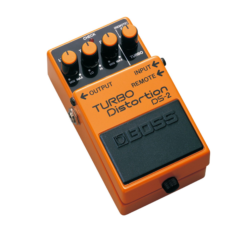PEDAL EFECTO GUITARRA TURBO DISTORTION W REMOT/TURBO DS-2 BOSS