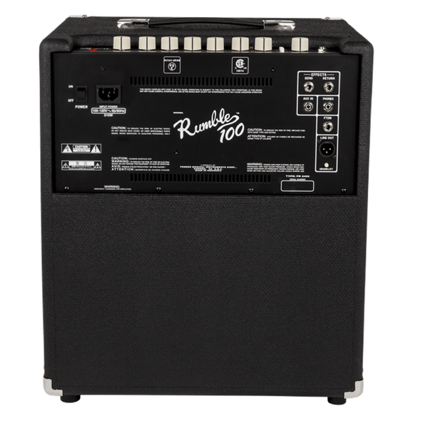 AMPLIFICADOR BAJO RUMBLE™ 100w  FENDER