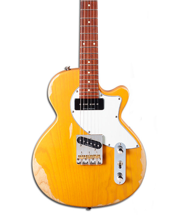 GUITARRA ELECTRICA BUTTER BLONDE SUNSET TC CORT