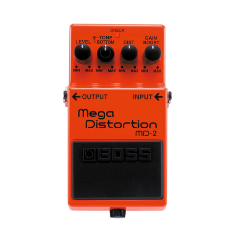 PEDAL EFECTO GUITARRA BOSS MEGA DISTORTION MD-2