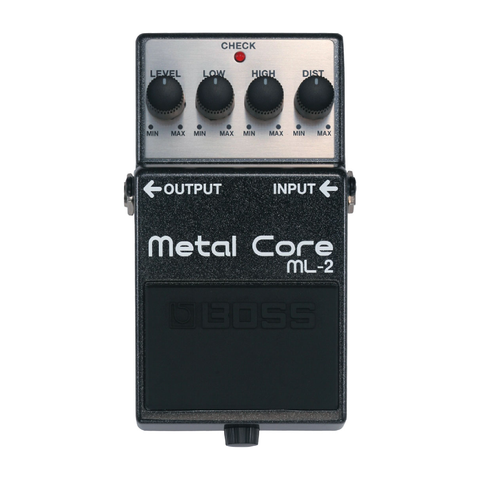 PEDAL EFECTO GUITARRA BOSS METAL CORE ML-2