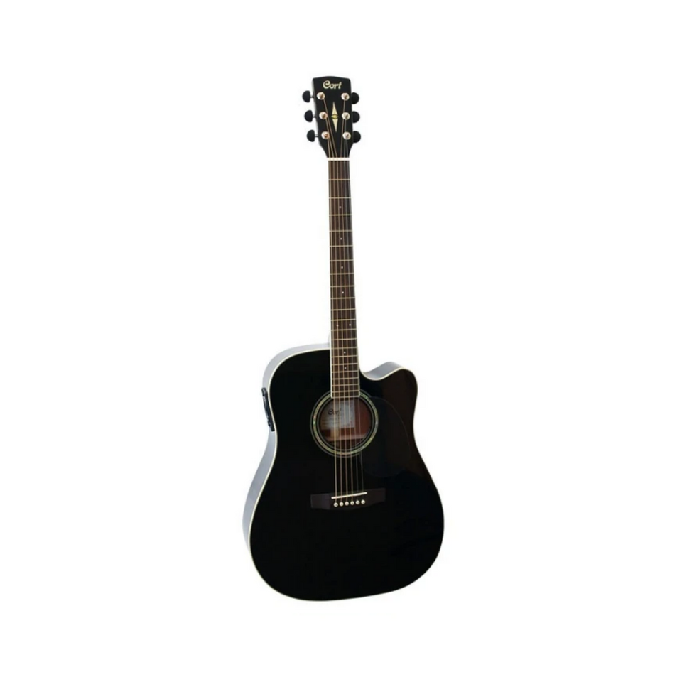 GUITARRA ELECTROACUSTICA MR710F Black CORT