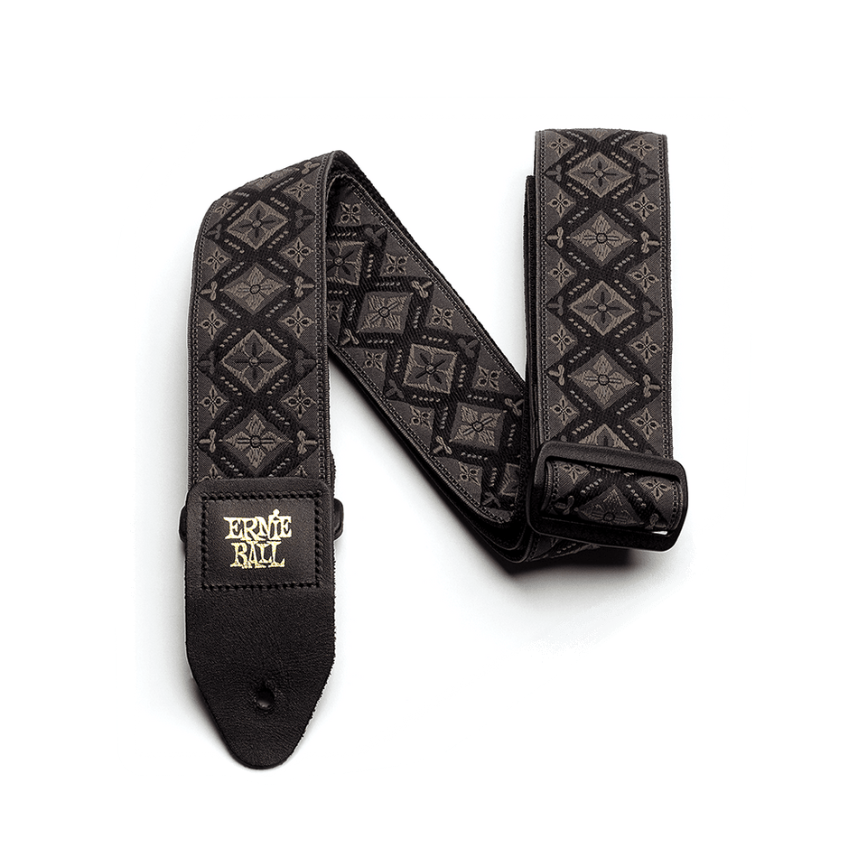 CORREA DE GUITARRA REGAL BLACK JACQUARD