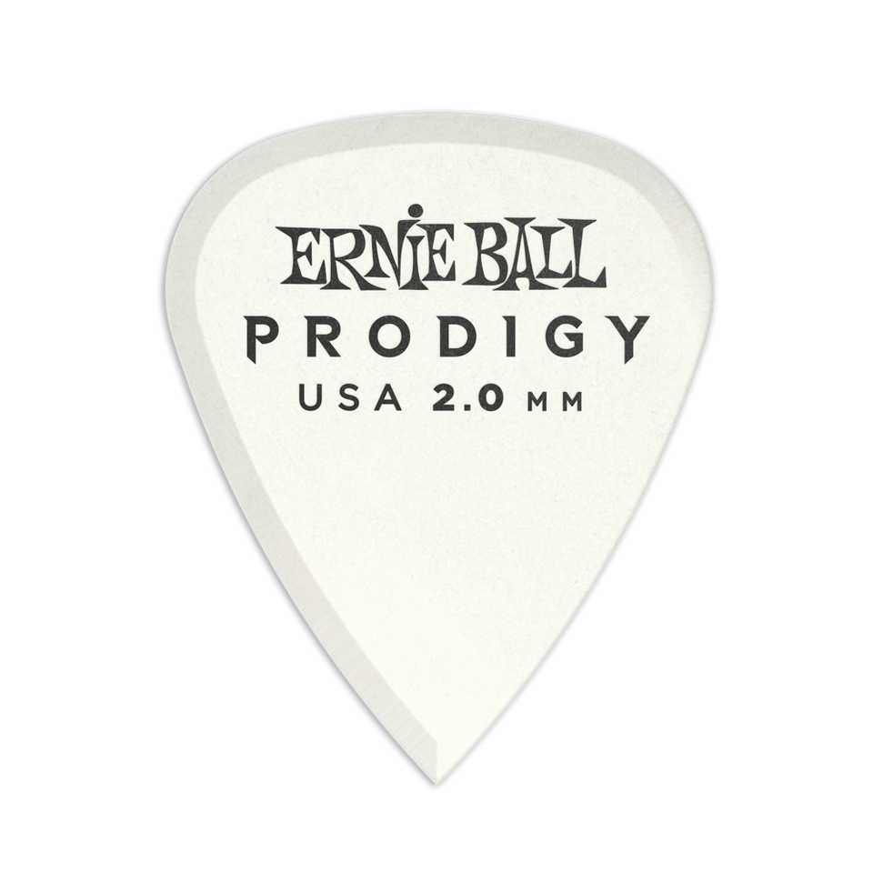 PICKS ERNIE BALL PRODIGY ESTÁNDAR DE 2.0MM 6 PACK