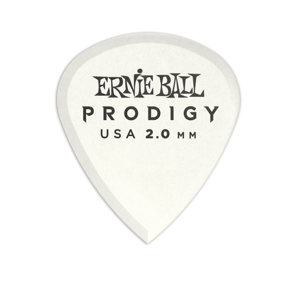 PICKS ERNIE BALL PRODIGY WHITE 3S MINI 2.0 MM 6 PACK