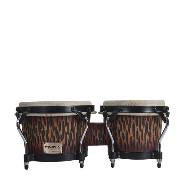 BONGOS 7-8.1/2 TYCOON SUMPREMO SELECT CHISELED ORANGE STBS-B