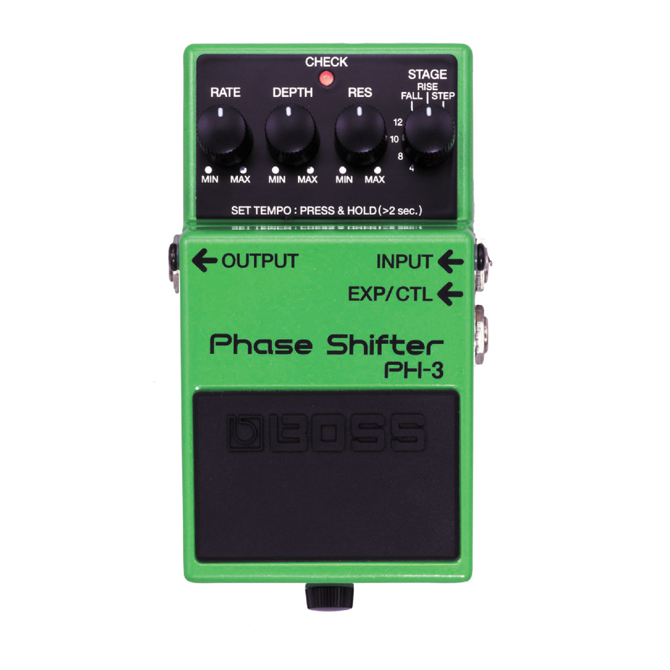 PEDAL PHASE SHIFTER PARA GUITARRA ELECTRICA BOSS PH-3