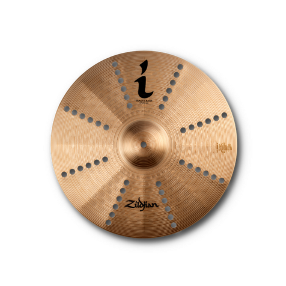 "PLATILLO ZILDJIAN 17"" SERIES I TRASH CRASH"