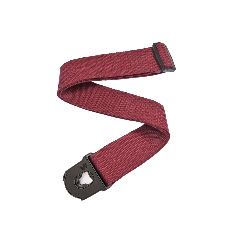 CORREA SEGURIDAD GUITARRA ROJA PWSPL201 PLANET WAVES