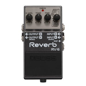 PEDAL EFECTO GUITARRA BOSS REVERB & DELAY RV-6
