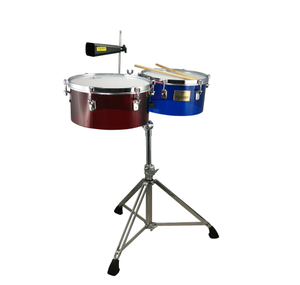 TIMBALES 13-14 ACRILICO TTI-1314 + STAND TYCOON