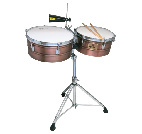"TIMBALES TYCOON 14""-15"" ANTIQ"