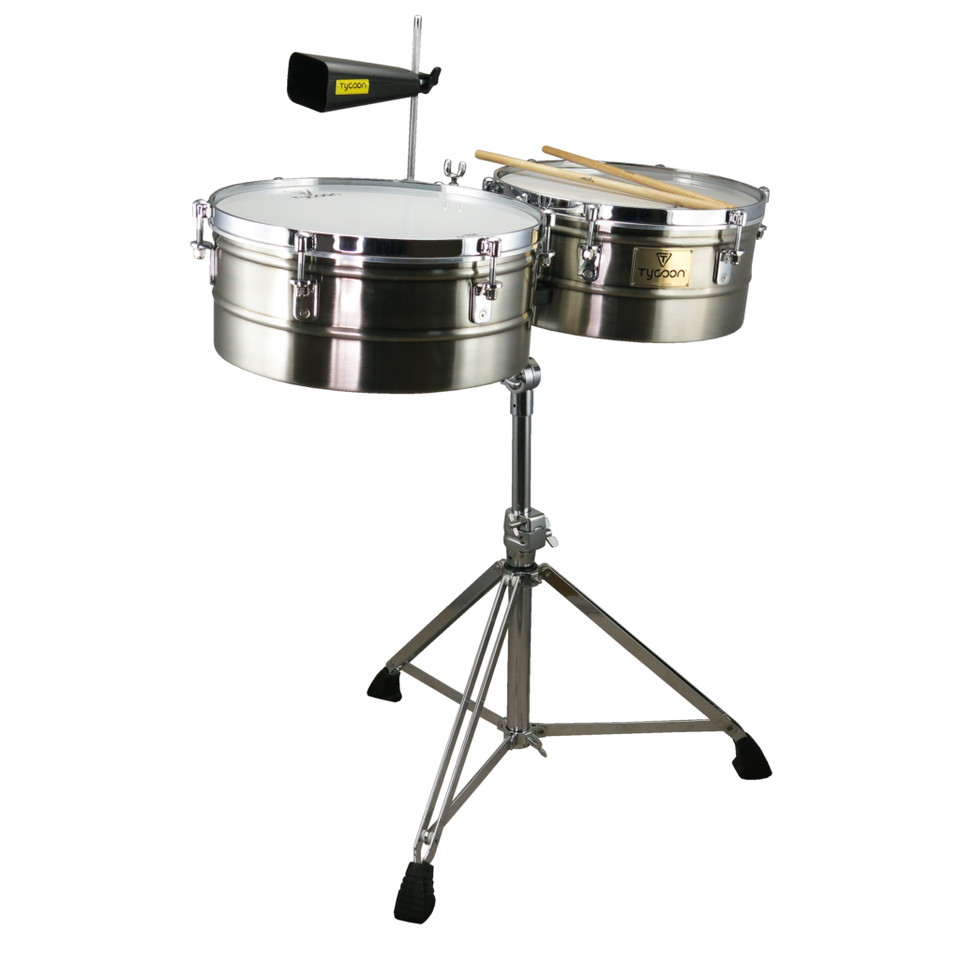 "TIMBALES TYCOON 14""-15"" CHROME"