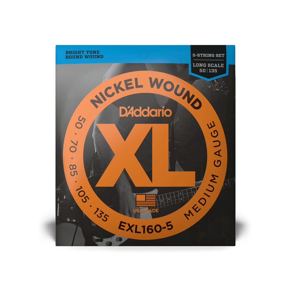 SET CDAS BAJO EXL160-5 (5) Long DADDARIO