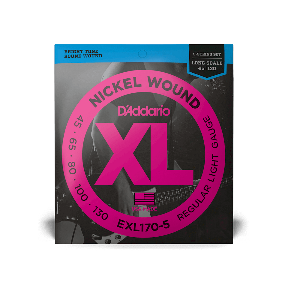 SET CDAS BAJO EXL170-5 (5) Long DADDARIO