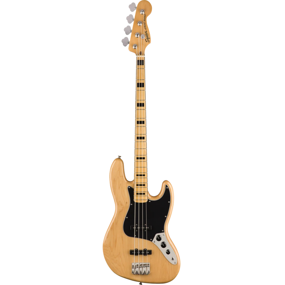 BAJO ELECTRICO FENDER SQUIER/ Classic Vibe 70s JAZZ BASS / NATURAL