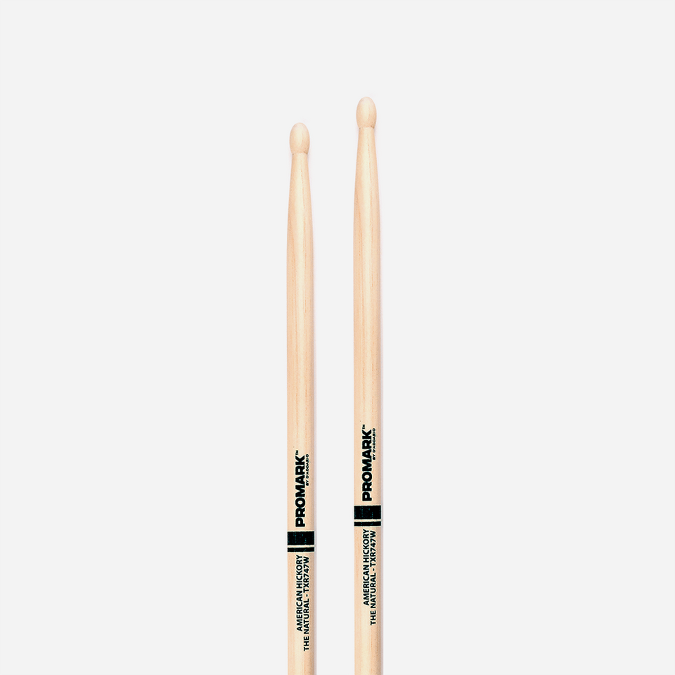 "BAQUETA HICKORY 747 - ""THE NATURAL"" TXR747W  PROMARK"