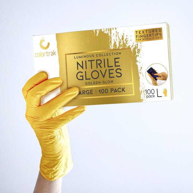 Colortrak Nitrile Salon Gloves | Allergy Safe Gloves for Hairstylists