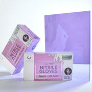 Colortrak Lavender Shimmer Nitrile Gloves | Luminous Collection