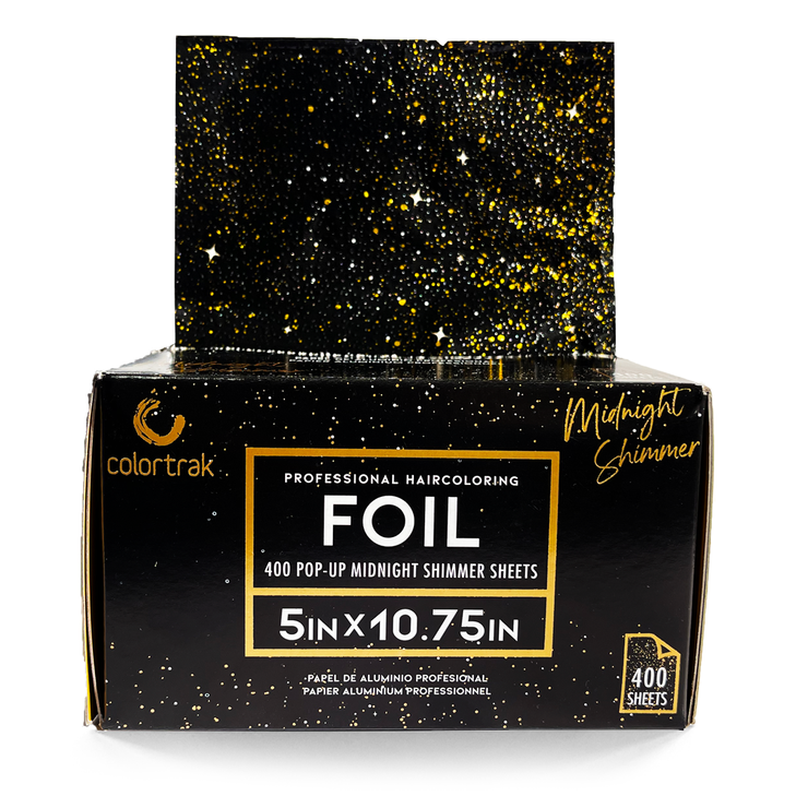 400ct Midnight Shimmer Pop-Up Foil | Black and Gold
