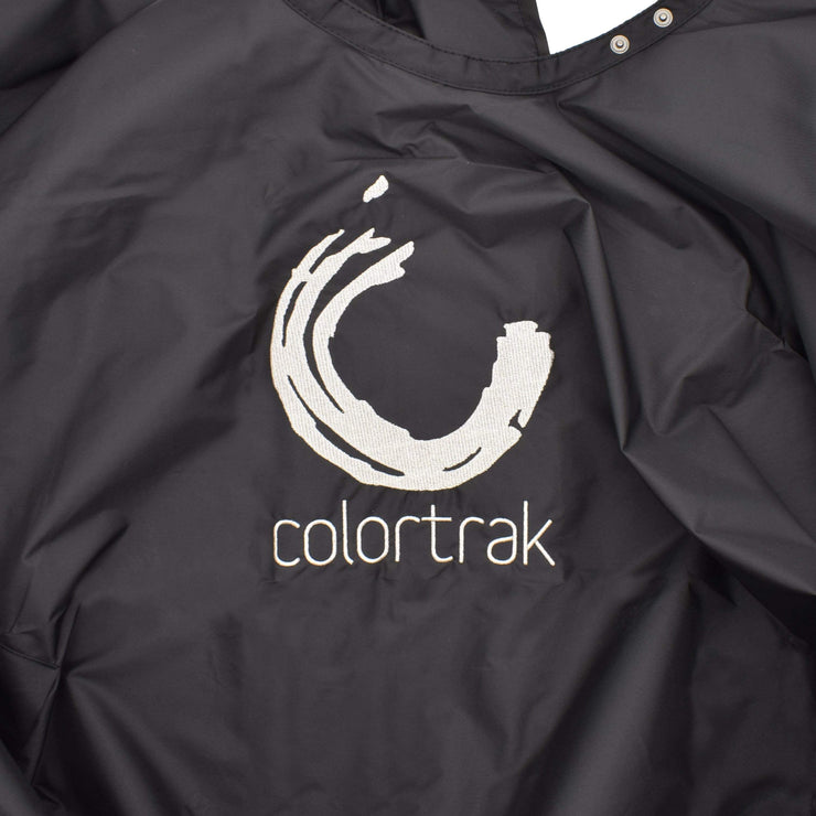 Colortrak Chemical Cape With Hand Pockets for Salons, Dye Resistant