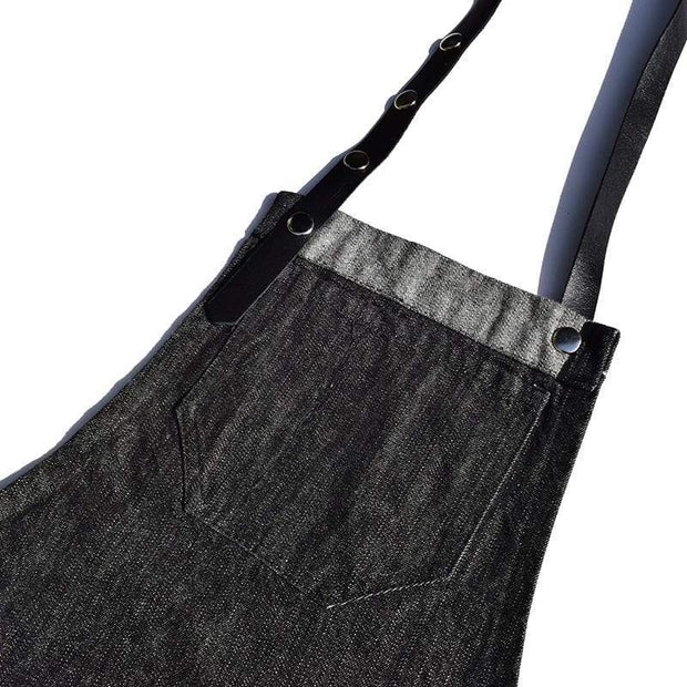 Colortrak apron The Lincoln Black Denim Apron