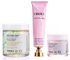 Truly Unicorn Bundle- tubs and tubes of body and hair care