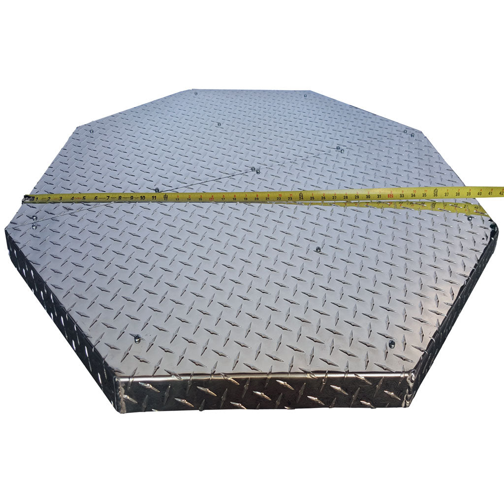 Northland Metal Deck Defender Grass Guard Fire Pit Heat Shield Max
