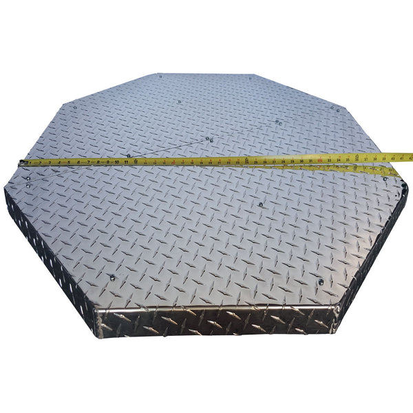 Northland Metal Deck Defender Grass Guard Fire Pit Heat Shield MAX new extra wide measurement. DD3040.jpg