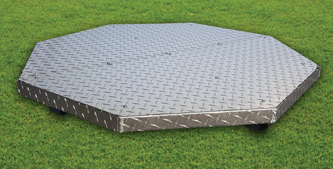Deck Defender Grass Guard Fire Pit Heat Shield MAX DD3040