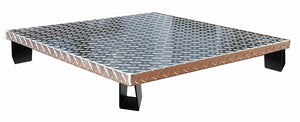 deck defender grass guard fire pit heat shield DD3026