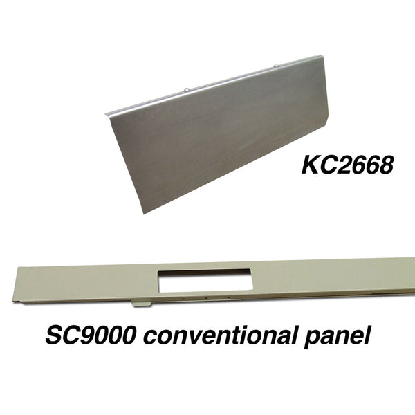 SC 9000 steelcase panel kick plate triplex conventional panel KC2668
