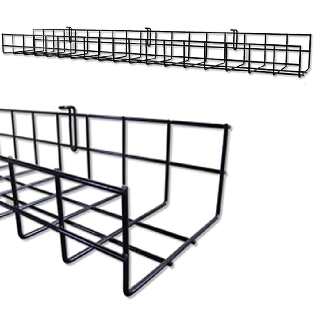 under desk wire cable tray oranizer for cord and cable management CT9436