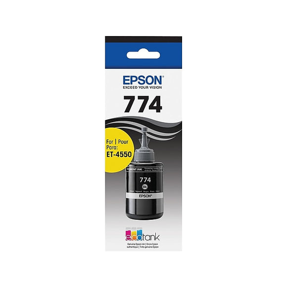 Epson T774 Black Ink, Ultra High Yield (T774120-S)