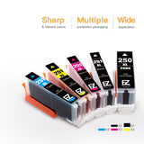Compatible Ink Cartridge Canon PGI-250XL 250 XL CLI-251XL 251 XL High Yield 15 Pack - E-Z Ink Inc.