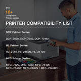 Compatible Toner Cartridge  Brother TN330 TN360 TN-330 TN-360 High Yield 2 Pack - E-Z Ink Inc.