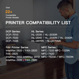 Compatible Toner Cartridge Brother TN-350  1 Pack - E-Z Ink Inc.