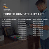 Compatible Toner Cartridge  Brother TN-850 2 Pack - E-Z Ink Inc.