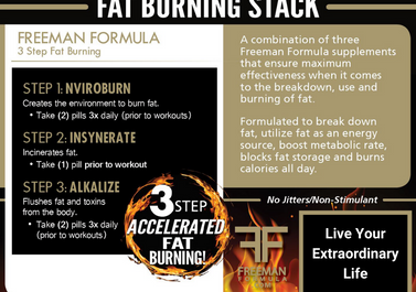 FAT Burn Stack - Combined Fat Burning Optimization
