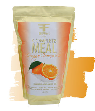 Meal Replacement Complete Meal Pack - Orange Creamsicle - Freeman Formula Supplements