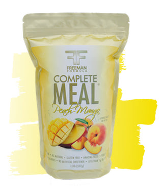 Meal Replacement Complete Meal Pack - Peach Mango - Freeman Formula Supplements